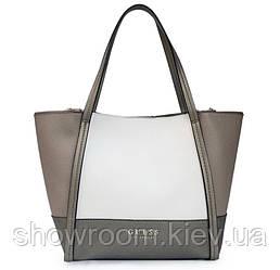 Женская брендовая сумка Guess (17622) grey