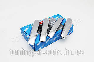 Хром накладки на ручки Renault Duster 2011- Autoclover (B852)
