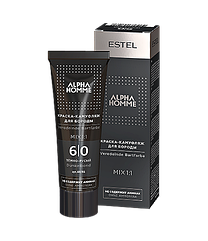 Фарба-камуфляж для бороди Estel Alpha Homme 6/0 темно русявий 40 мл