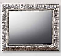 Зеркало настенное в раме Factura Grace Steel 59х49 см стальное