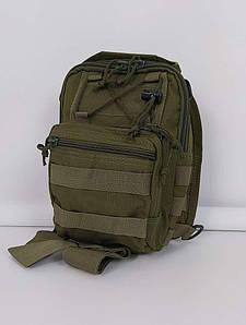 Городской рюкзак мужской с одной лямкой 25х20х10 см