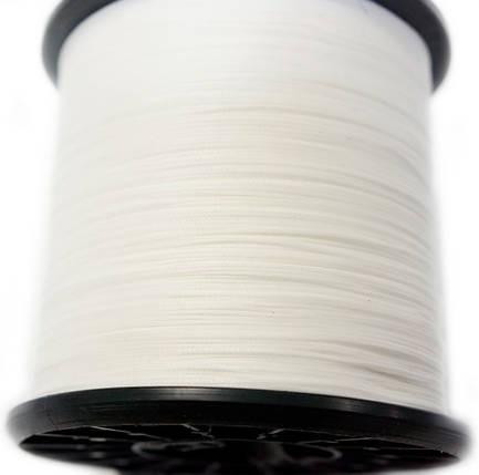 "НИТКА ""COMBI""0,8мм воскована (1000 м.) біла BIANCO(0111), фото 2"