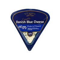 "Сыр МЯГКИЙ ""St. Clemens"" Danish Blue Cheese Danablu, 50% 100 г"