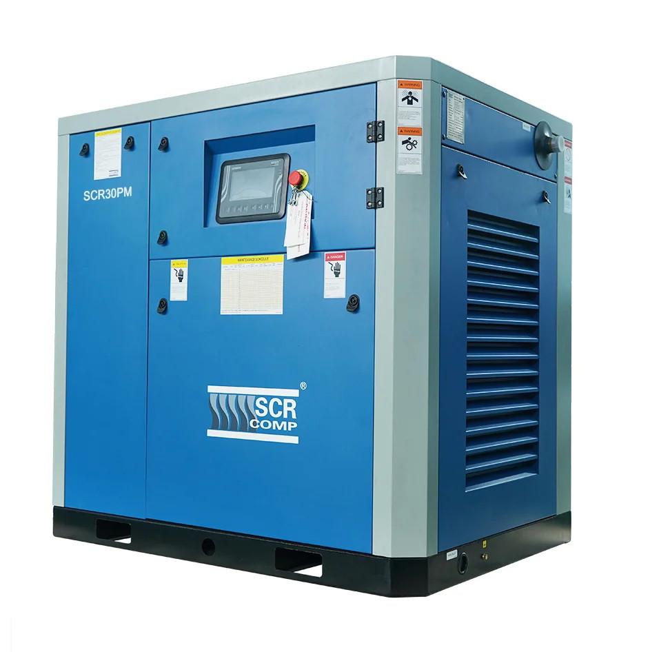 Компресор SCR 30 РМ (22 кВт, 0.74 - 3.7 м3/хв) прямий привід, частотник, двигун на постійних магнітах