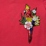 Платье летнее р.122,128.140.146,152 для девочки SmileTime Summer, коралл, фото 3