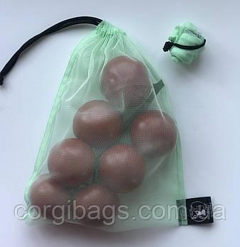 Многоразовые мешочки, эко мешочки для продуктов, торбочки, розмір S (20х26см)