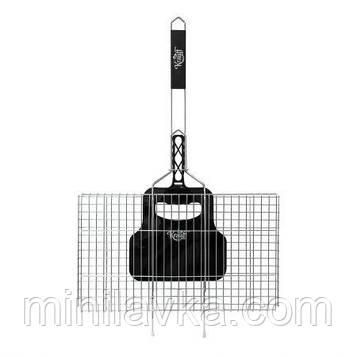 Решетка гриль Krauff 29-274-005 - с веяло, 66*45*26*5 см