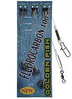 Набор флюорокарбоновых поводков Golden Fish 24 штуки, фото 1