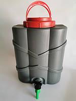 Рукомойник (умывальник) пластиковый с краном 10 л (24х18х33 см) Консенсус OST-1346