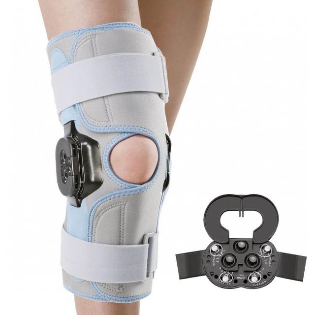 Бандаж  WellCare с полицентрическим шарниром на колено 52014