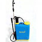Ручной гидравлический опрыскиватель Sprayer KF-12B-D садовый ранцевый, фото 2