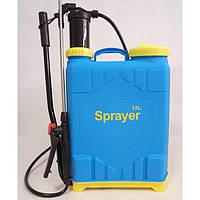 Ручной гидравлический опрыскиватель Sprayer KF-12B-D садовый ранцевый (ручний обприскувач садовий), фото 1