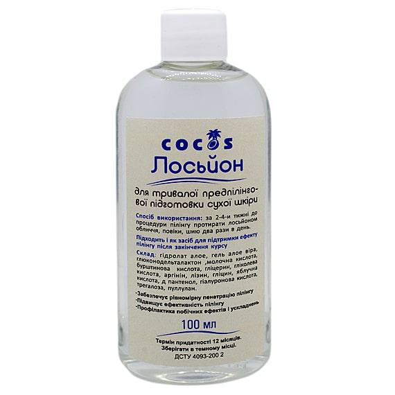 Передпілінговий лосьйон Cocos для тривалої сухої шкіри 4 pH 100 мл