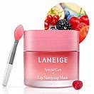 Уценка! Ночная маска для губ Laneige Lip Sleeping Mask 20 g с кисточкой (мятая коробка), фото 3