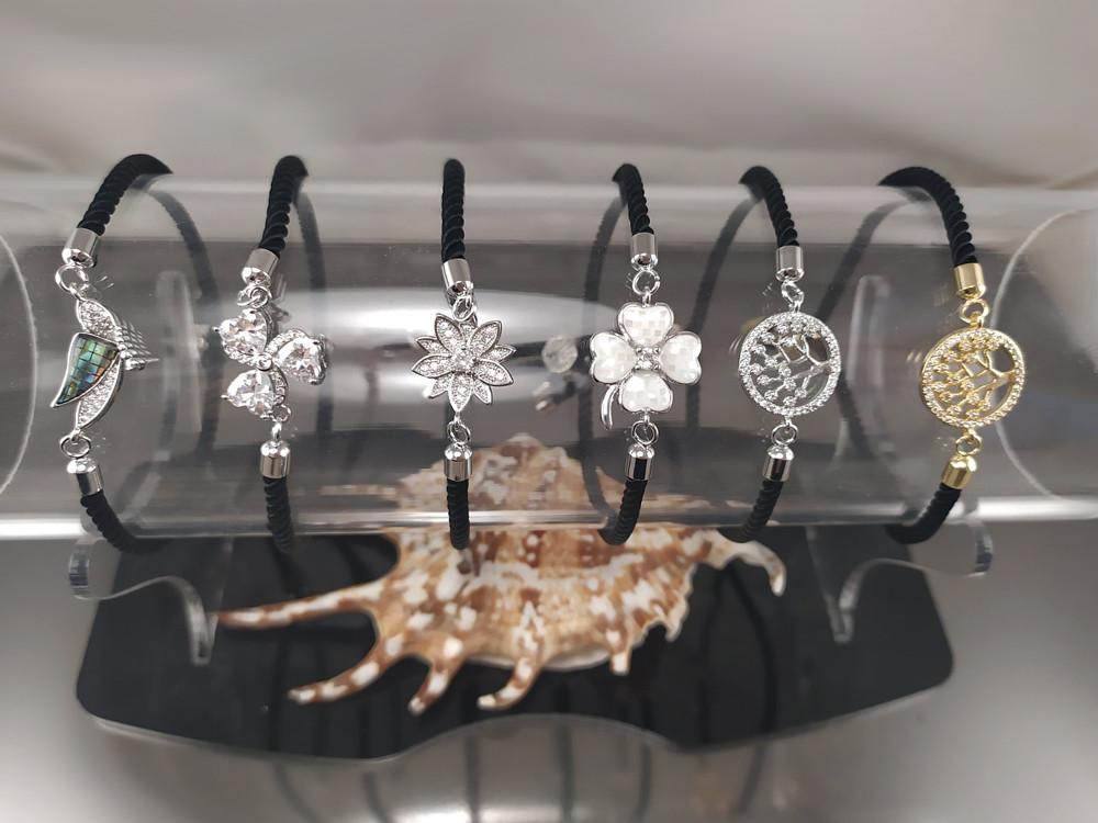 Новые браслеты на шнурке
