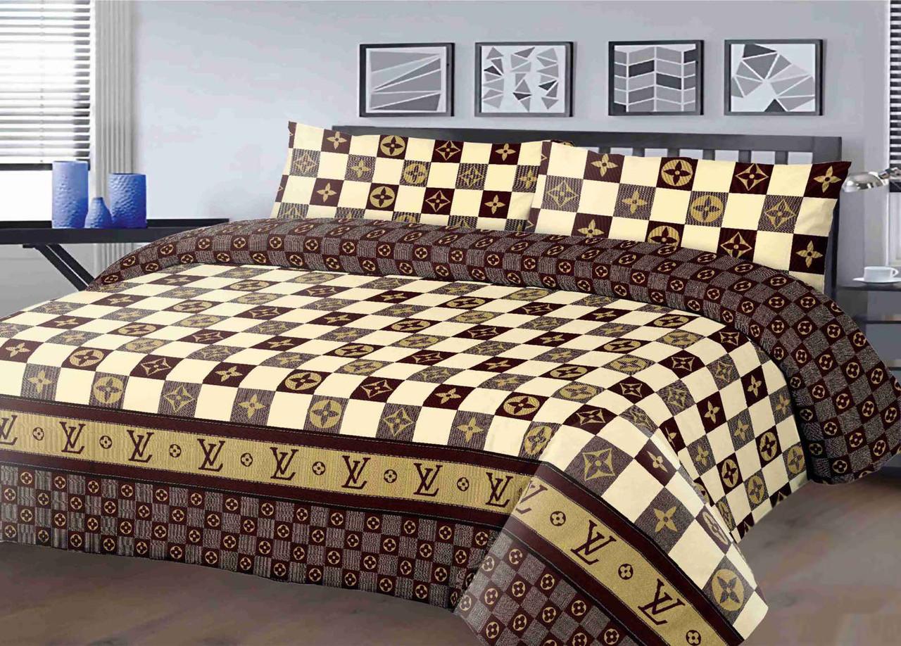 Постельное белье полуторное 150*220 хлопок (14424) TM KRISPOL Украина