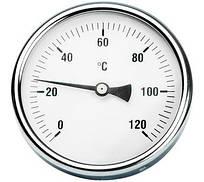 """Термометр аксиальный задний 1/2"""" 120°C (Ø100/50мм)"""