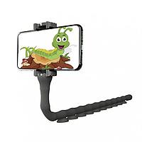 Гибкий держатель с присосками для телефонов Cute Worm Lazy Holder