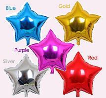 """Фольга 18"""" Китай звезда синяя, для вечеринки Baby Shower"""