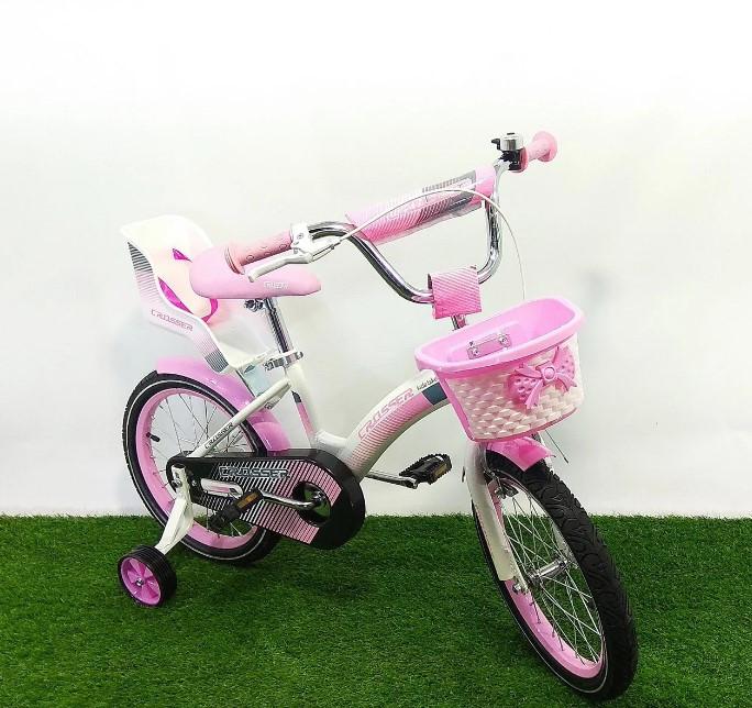 """Детский велосипед Crosser Kids Bike 16"""" розовый"""