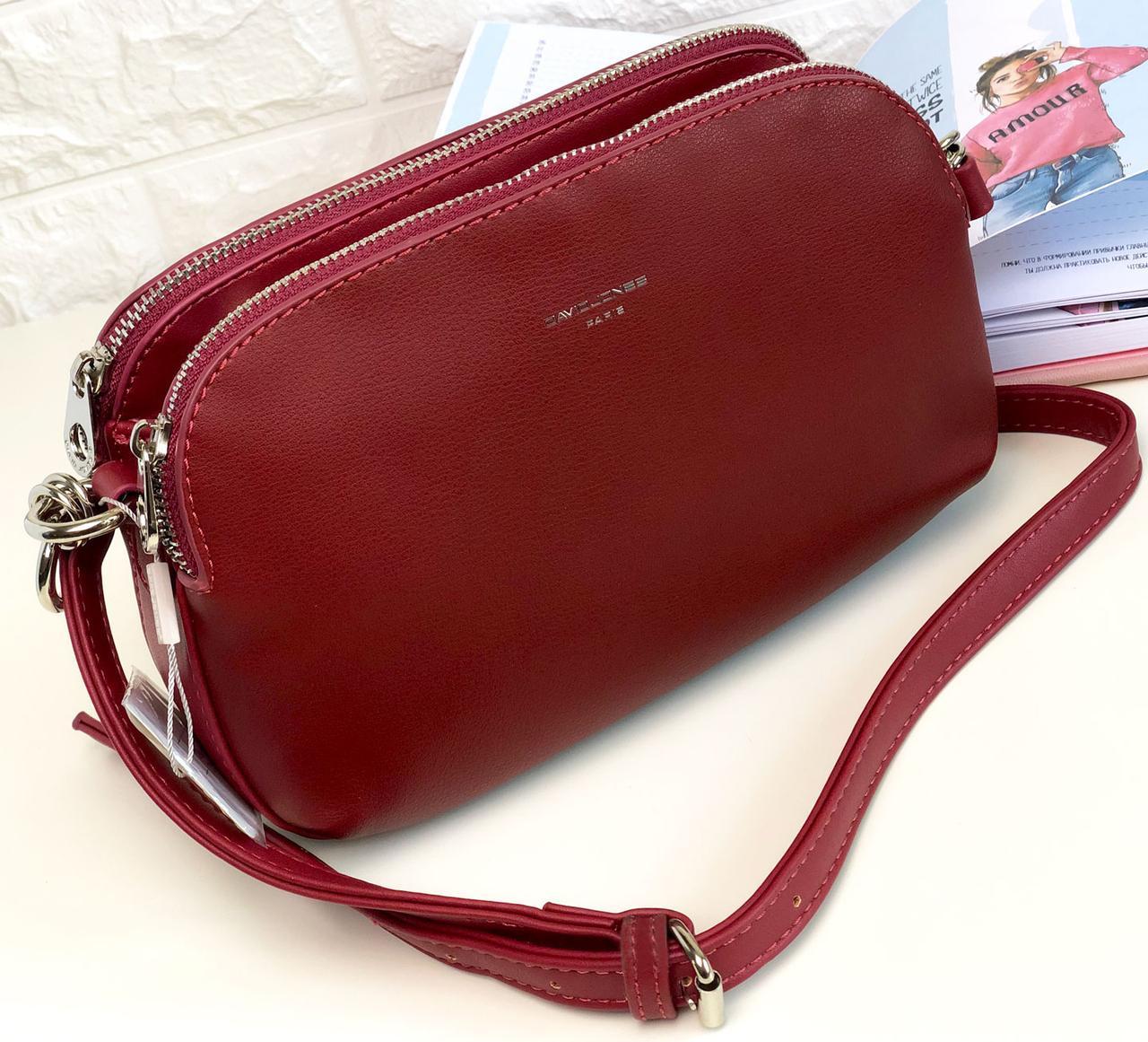 Женская сумка David Jones 6200 Красная