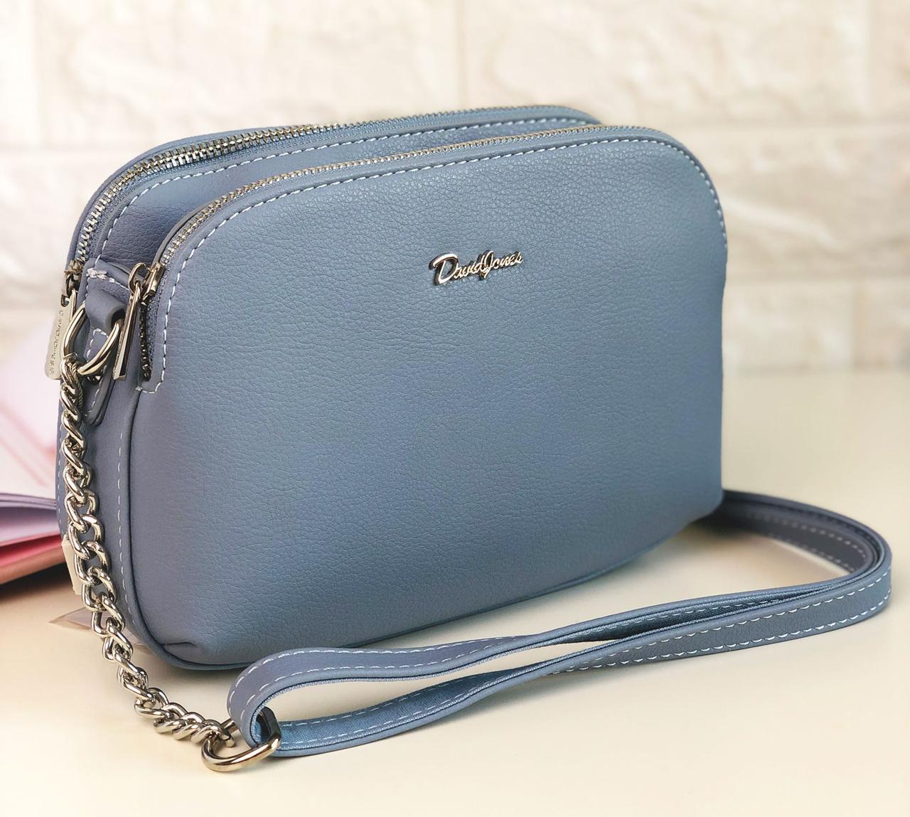 Женская сумка David Jones 6200 Голубая