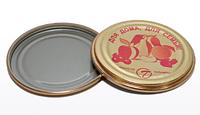 Крышка ТАЛАМУС для консервирования, металлическая, в упаковке 50 шт.