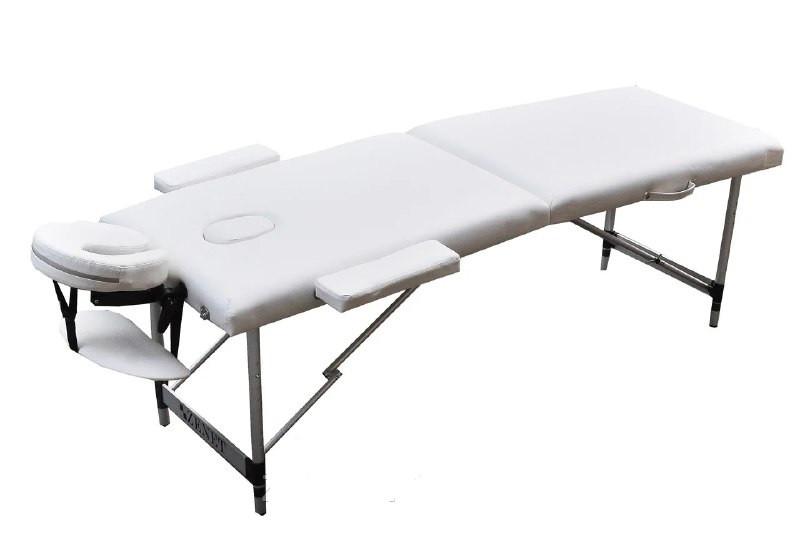 Массажный стол  переносной ZENET  ZET-1044 WHITE размер L (195*70*61)