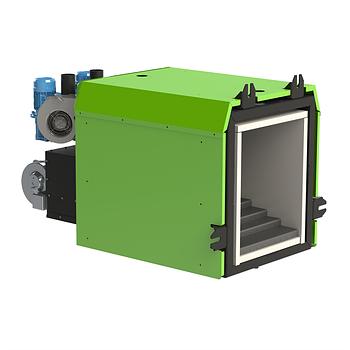 Пеллетная горелка AIR Pellet Ceramic 1500кВт контроллер и шнек в комплекте (800-1500 кВт)