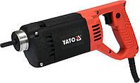 Вибратор для укладки бетона YATO 1200 Вт 3 м Ø35 мм с булавой