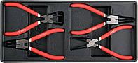 Вклад для инструментального шкафа YATO сьемники стопорных колец 180 мм 4 шт