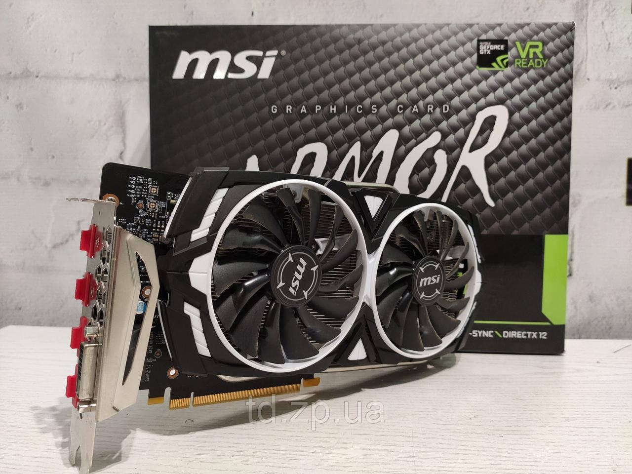 MSI GeForce GTX 1060 3Gb Armor DDR5 192bit