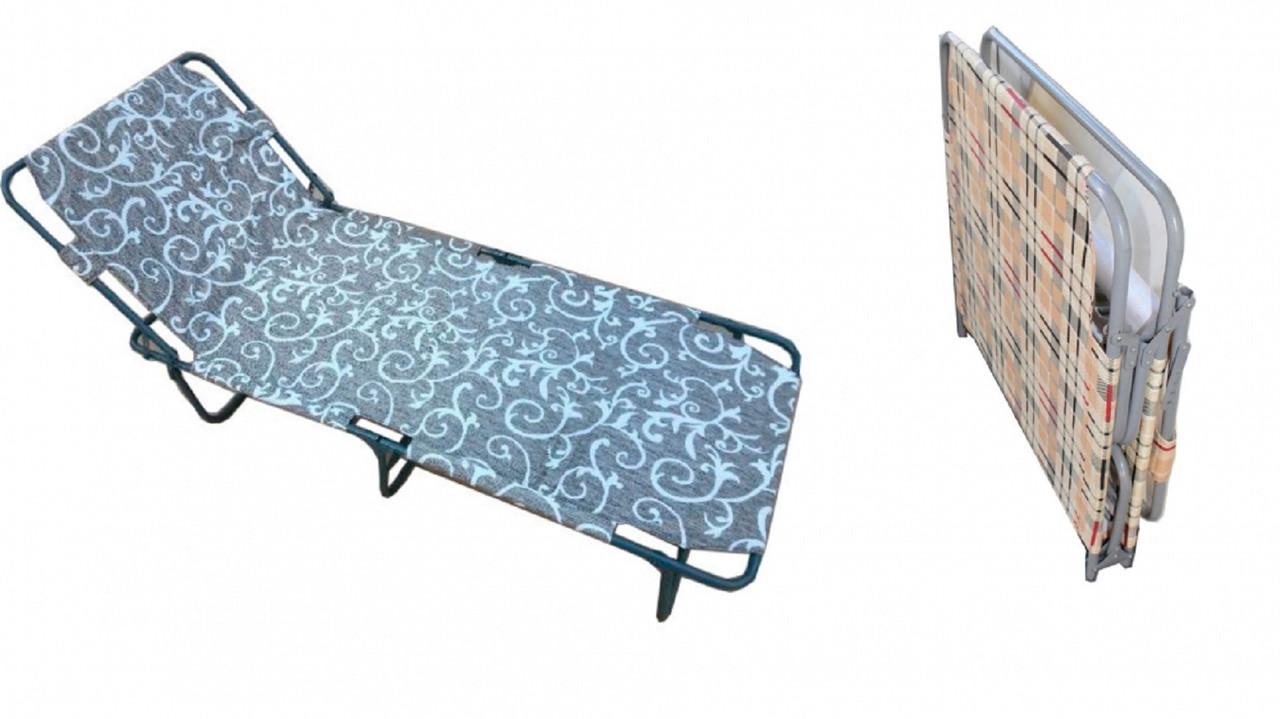 Раскладушка туристическая Мария 193х75х28 см.