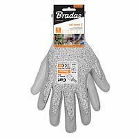 Перчатки с защитой от порезов Bradas CUT COVER 3 RWCC3PU8, полиуретан, размер 8