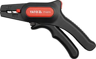 Кліщі - автомат для знімання ізоляції проводів YATO, l=195 мм