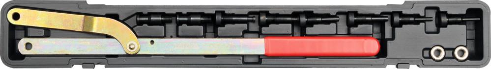 Ключ для натягування пасового кола ГРМ двигуна YATO з вставками, компл. 11 елем.