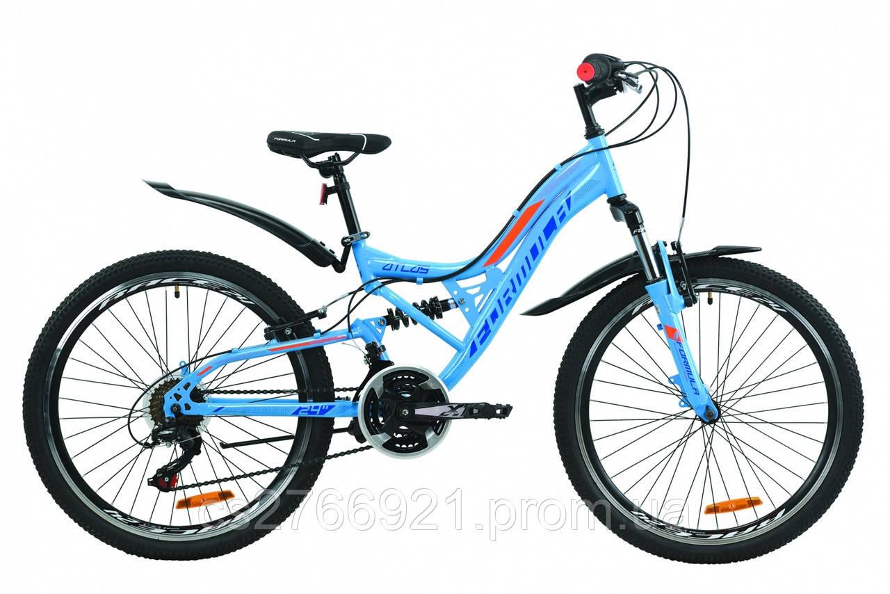 """Велосипед ST 24"""" Formula ATLAS AM2 Vbr с крылом Pl 2020"""