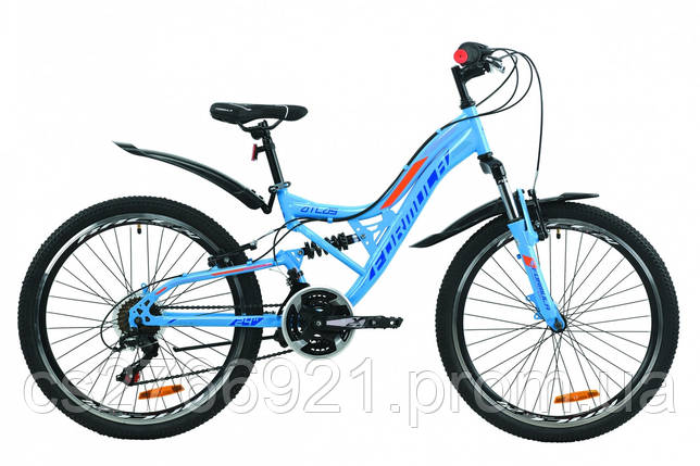 """Велосипед ST 24"""" Formula ATLAS AM2 Vbr с крылом Pl 2020, фото 2"""