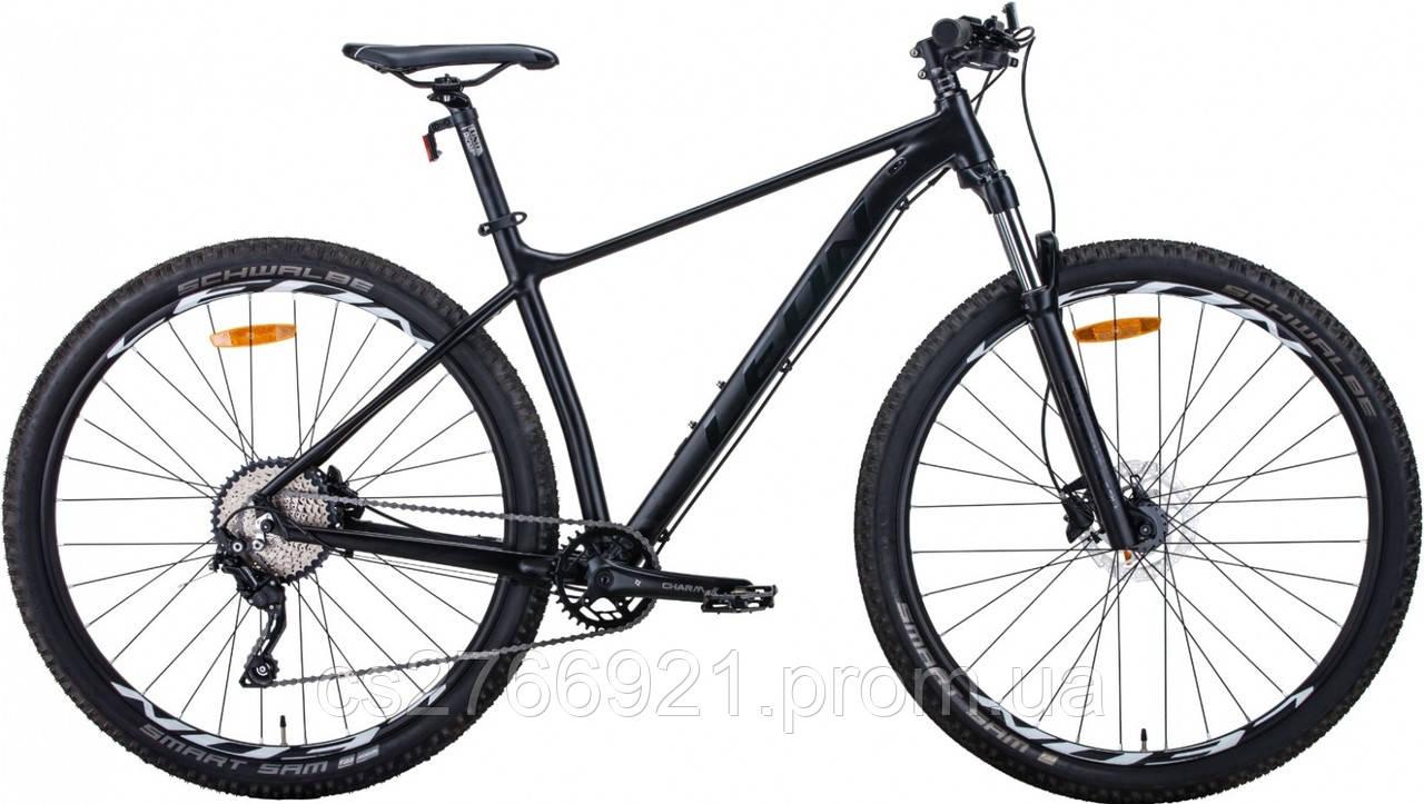 """Велосипед AL 27.5"""" Leon XC-60 AM с локаутом HDD рама-16"""" черный (м) 2020"""