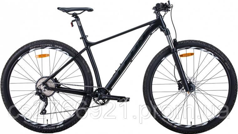 """Велосипед AL 27.5"""" Leon XC-60 AM с локаутом HDD рама-16"""" черный (м) 2020, фото 2"""