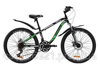 "Велосипед 24"" Discovery FLINT AM 14G DD St с крылом Pl 2020, фото 2"