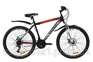"Велосипед 26"" Discovery TREK AM 14G DD St с крылом Pl 2020, фото 3"