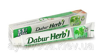 Зубная паста - Базилик, 100 гр, Dabur