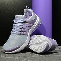 Кроссовки женские сетка фиолетовые 06-29-64592 (41р - 26,7см)