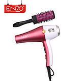 Фен для укладки волос Enzo  EN-6050H с дифузором, фен 7в1,  6000 W, Набор для укладки волос, фото 3