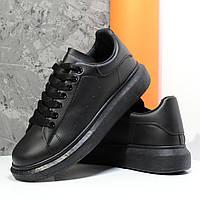 Мужские кроссовки черные vip 06-29-53646, р. 40 - 45