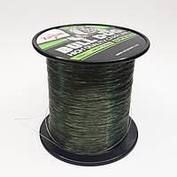 Леска Bull-Dog карповая 0,28 мм 1000м темно-зеленая