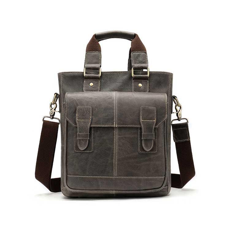 Чоловіча класична повсякденна шкіряна сумка Marrant