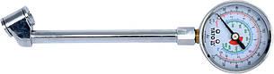 Манометр до коліс вантажних авто; l= 140 мм, P= 0-15 Bar (220 PSI)