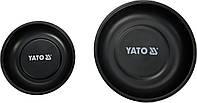 Миски магнітні круглі YATO Ø= 150 і 108 мм, 2 шт, фото 1